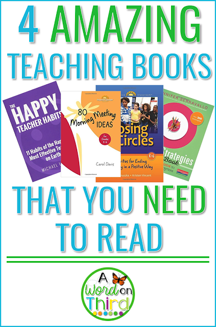4 Amazing Teaching Books That You Need To Read recommended by A Word On Third