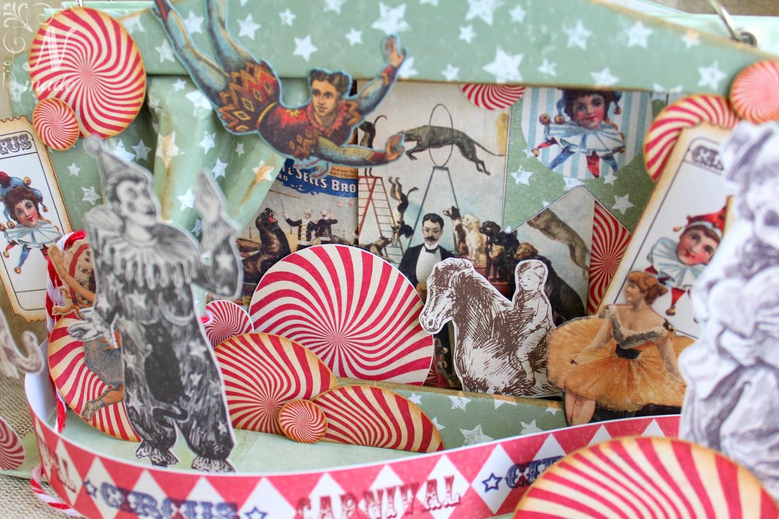 vintage circus decorations