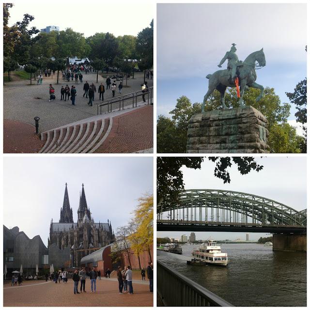 Ponte Hohenzollern em Colônia