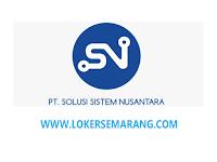 Lowongan Kerja Semarang Web Programmer di PT Solusi Sistem Nusantara