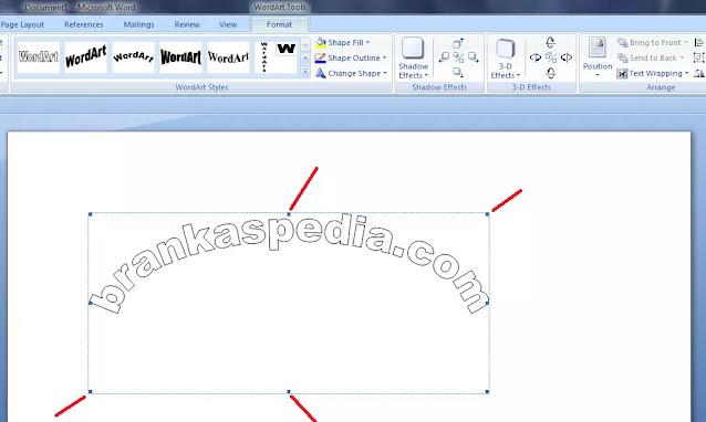 cara membuat tulisan kurva di word-5
