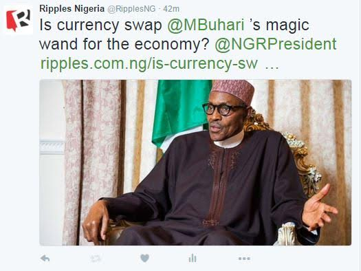 Is currency swap Buhari's magic wand for the economy?