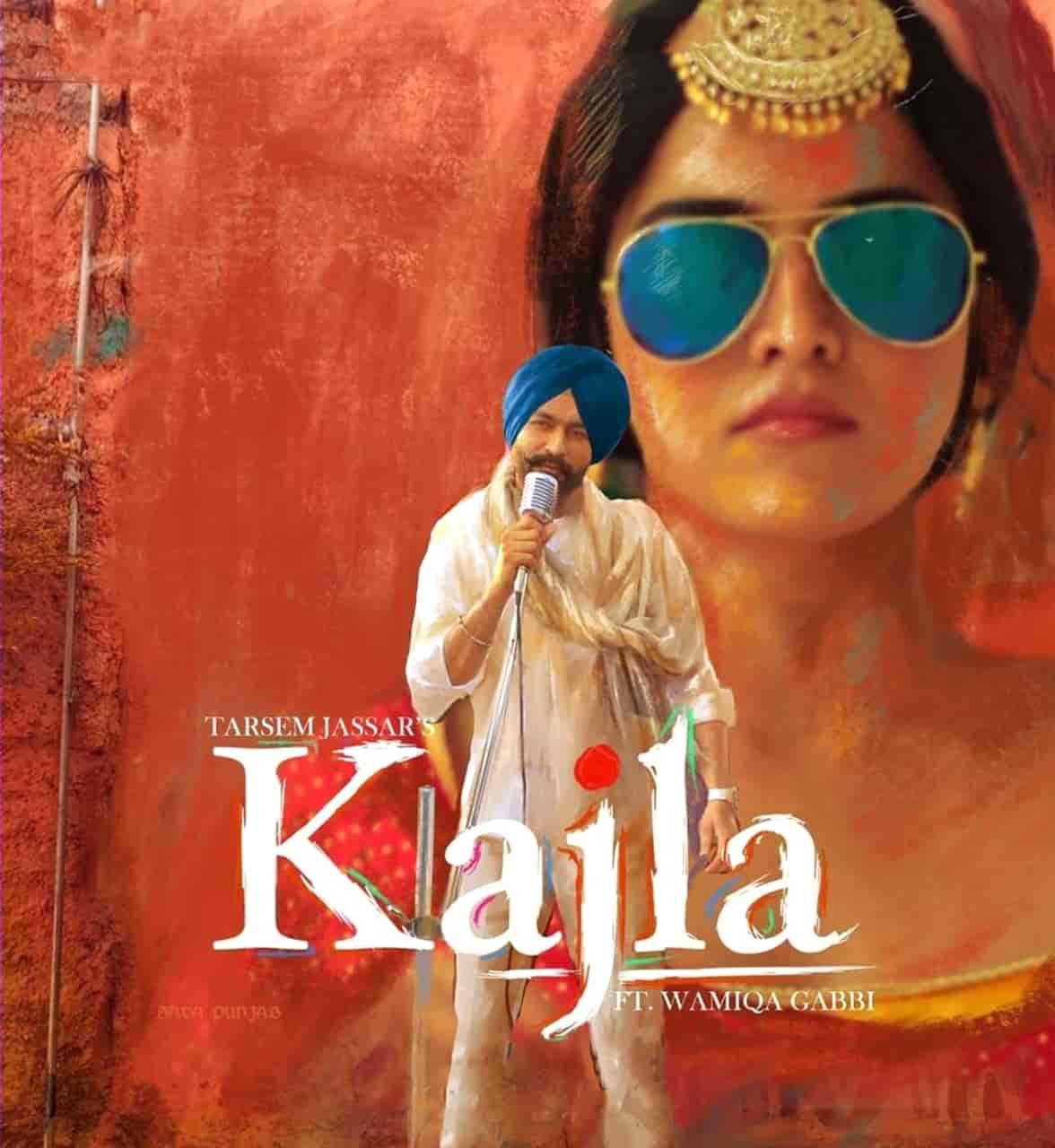 Kajla Punjabi Song Image Features Wamiqa Gabbi by Tarsem Jassar