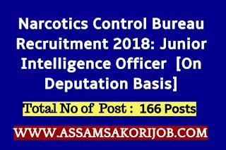 Narcotics Control Bureau Recruitment 2018