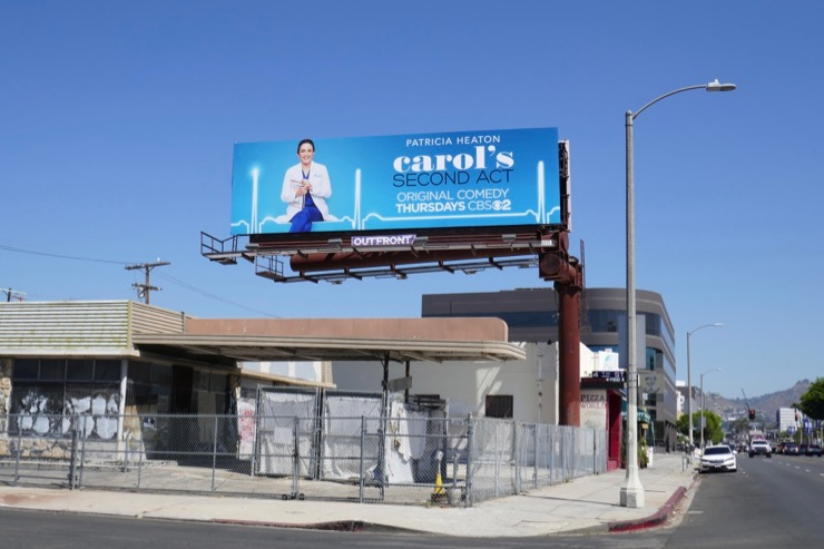 Carol's Second Act cbs billboard