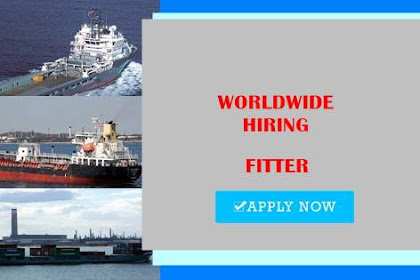 Fitter 2x For Car Carrier Vessel Join October 2021