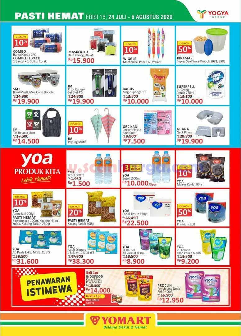 Promo Katalog Yomart Terbaru 24 Juli - 6 Agustus 2020 9