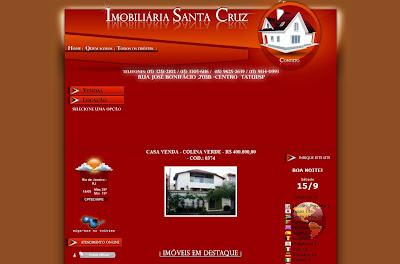 Imobiliária Santa Cruz - Tatuí