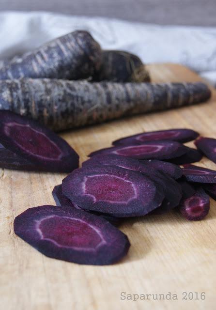 ricette con carote viola
