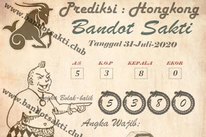 Syair Bandot Sakti Togel Hongkong Jumat 31 Juli 2020
