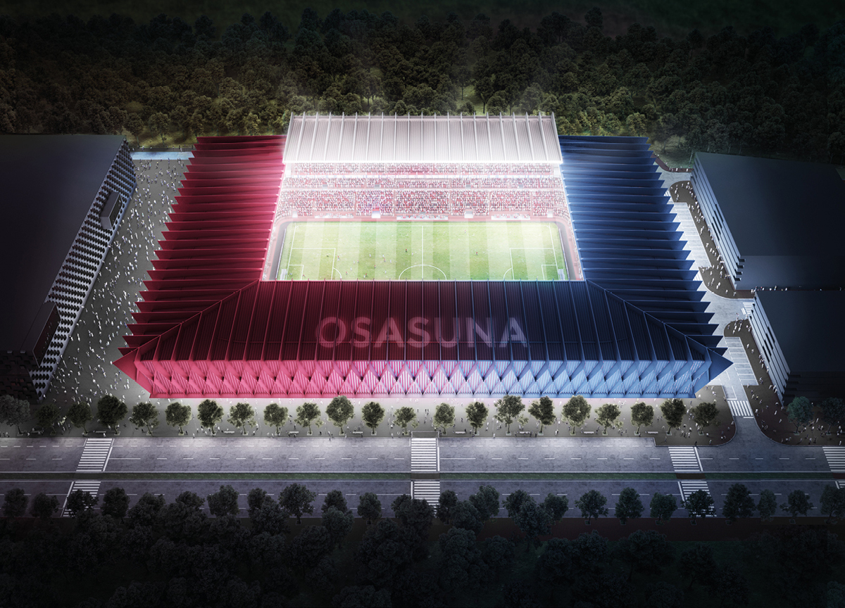 osasuna progetti nuovo stadio