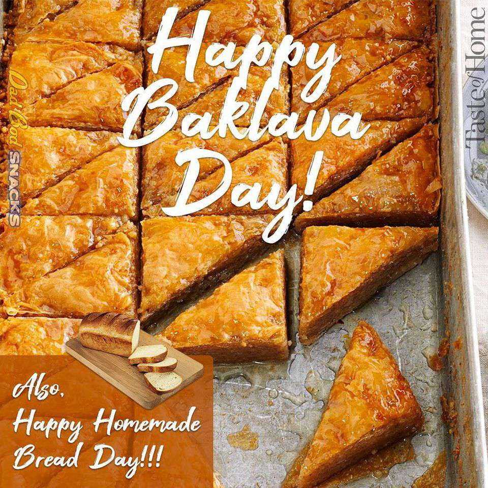National Baklava Day Wishes For Facebook