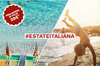 Logo Concorso Italo Treno #EstateItaliana : vinci voucher fino a 500 euro