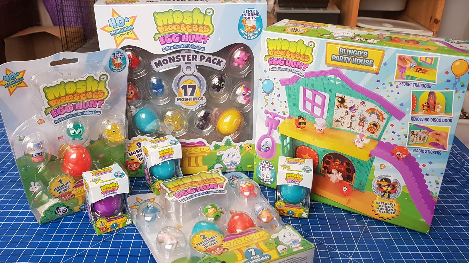 The Brick Castle New Moshi Monsters Egg Hunt Sets Age 5 Sent For Review