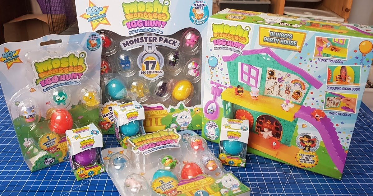 The Brick Castle New Moshi Monsters Egg Hunt Sets Age 5