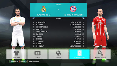 PES 2017 Menu Mod PES 2017 by Estarlen Silva