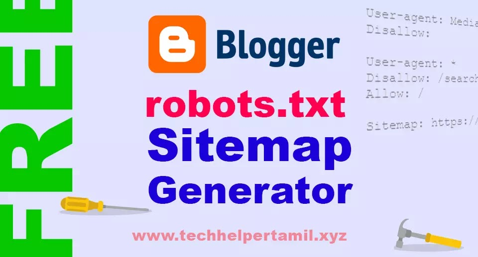 How to Create a Sitemap Robots txt for Your Blogger Blog in Tamil