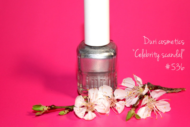 """Отзыв: Лак для ногтей «Звездный каприз» - Duri  """"Celebrity scandal"""" #536."""