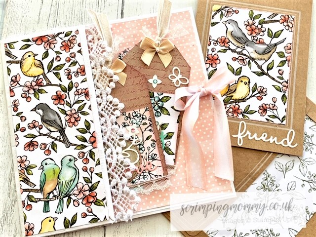 scrimpingmommy: From paper bag to gift set full tutorial