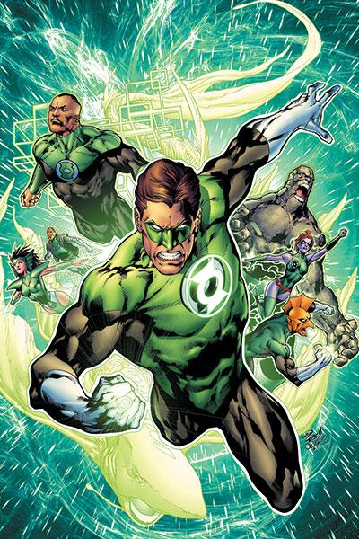 Free Wallpaper Arta Cafelei Green Lantern