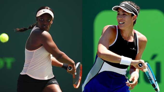 Sloane Stephens Garbine Muguruza French Open 2019