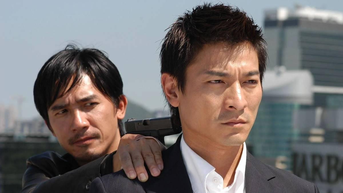 Tony Leung - Andy Lau di 'INFERNAL AFFAIRS'