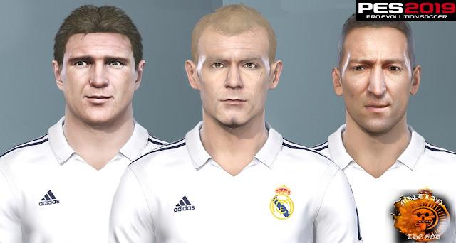 Real Madrid Legends Facepack For Pes 2018-2020 by MictlanTheGod