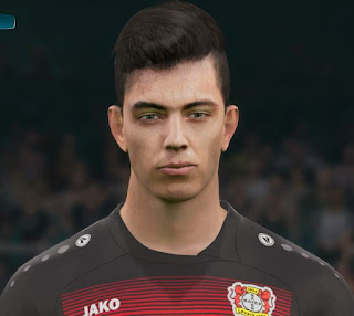 PES 2017 Faces Kai Havertz by PES Mod Go'ip