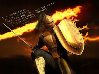 spiritual battle of the Christians
