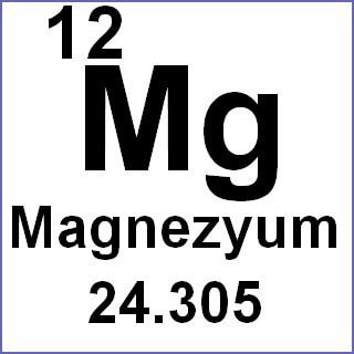 magnezyum formülü