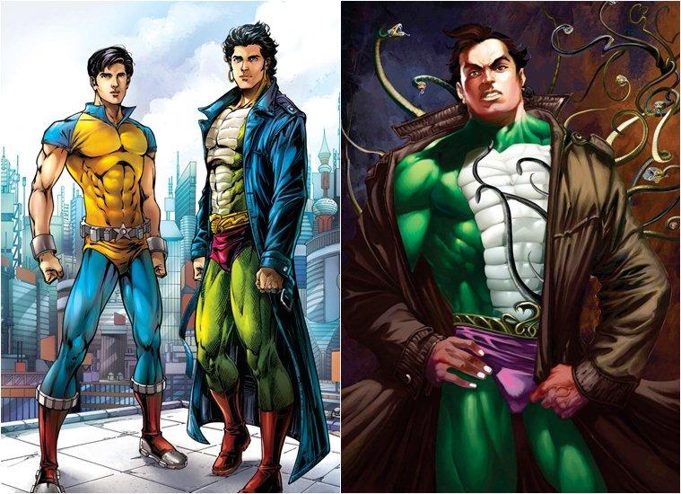 Free Download Hindi Comics: Nagraj And Super Commando Dhruv
