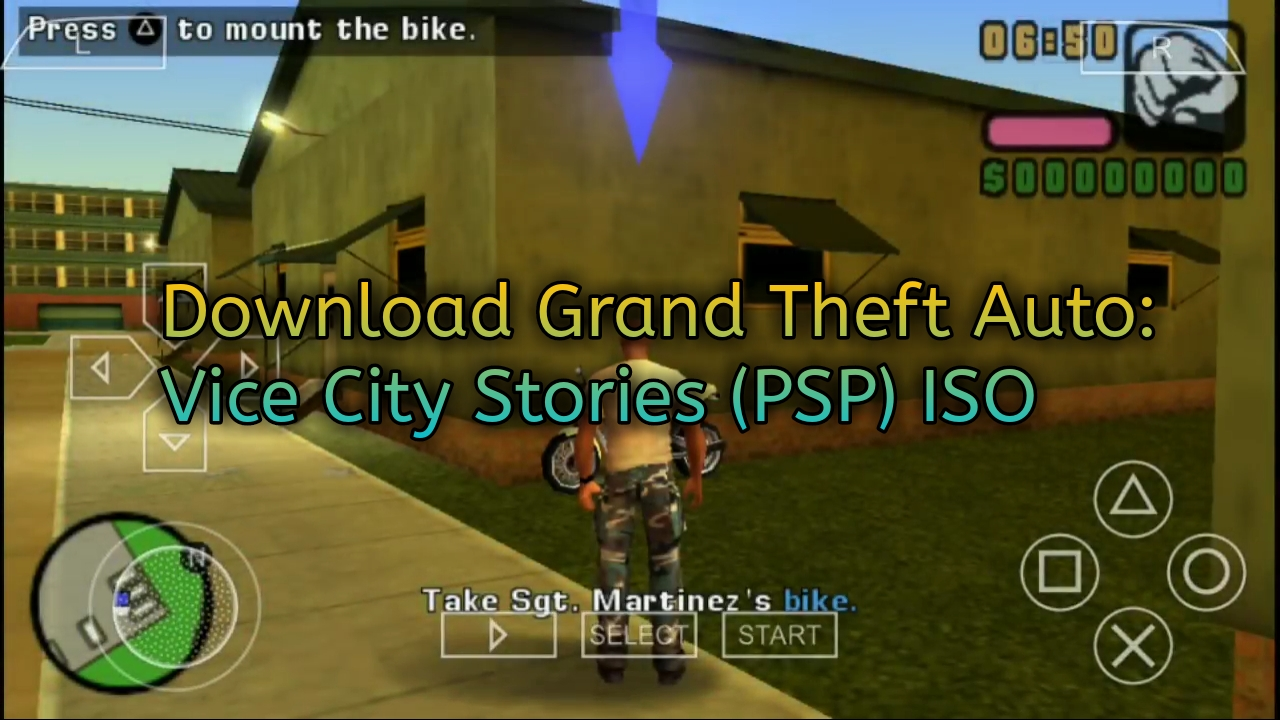 Download Grand Theft Auto: Vice City Stories (PSP) ISO - Solusianalogku