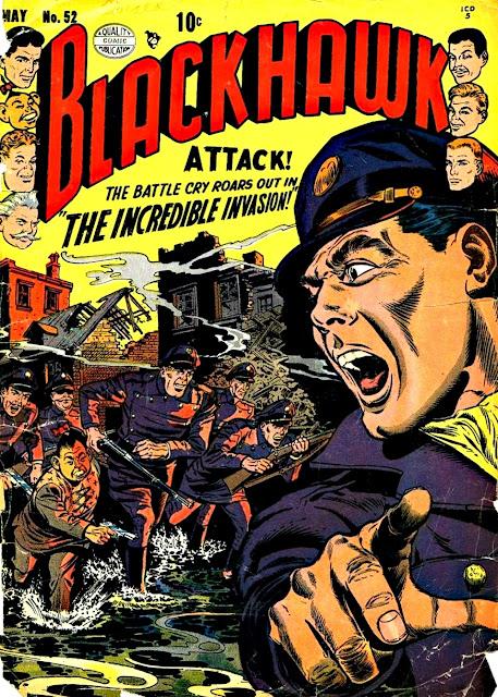BLACKHAWK in (almost) 3-D (1952)
