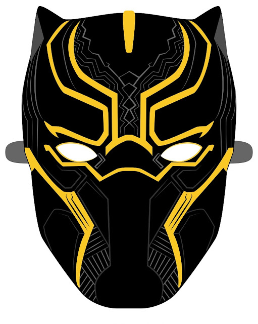 Black Panther: Free Printable Mask