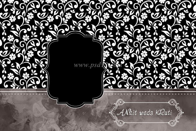 Wedding Embossed Photo Album Cover Design