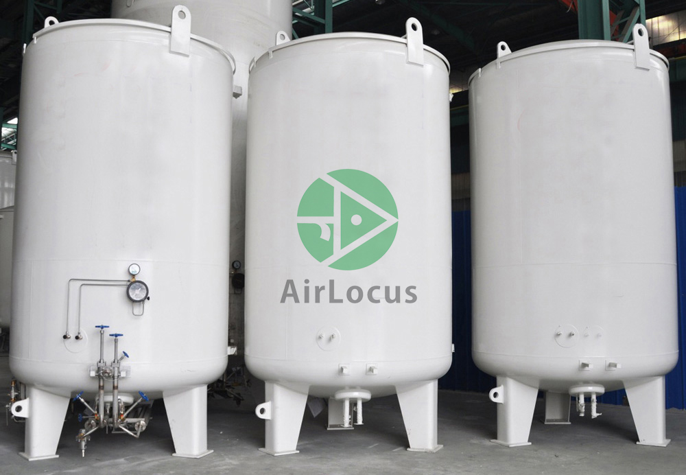 Gas Cylinders and Cryogenic Tanks: Cryogenic liquid oxygen