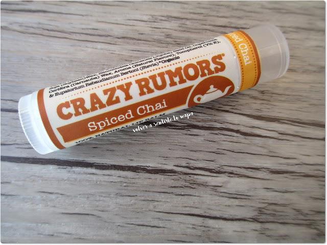 Bálsamos Labiales de Crazy Rumors - Spiced Chai