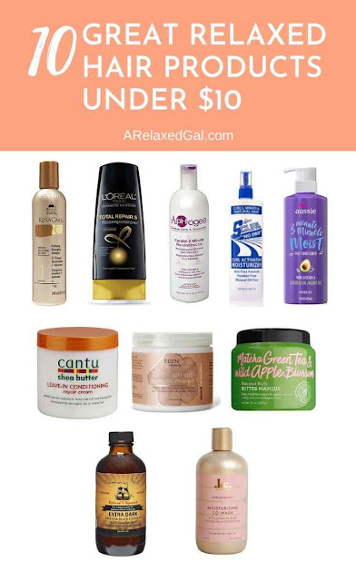 10 Great Hair Products Under $10 | A Relaxed Gal