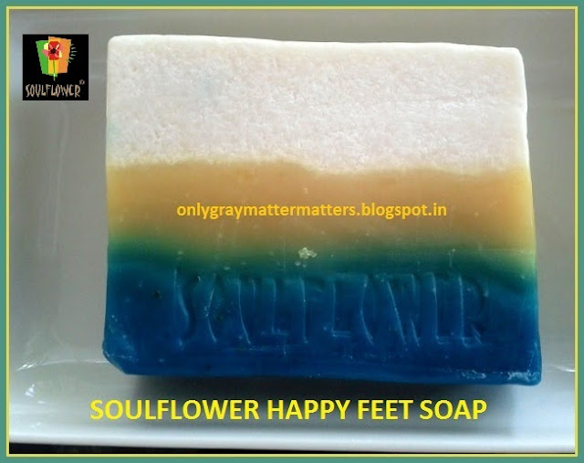Souflower Happy Feet Soap: How to Use