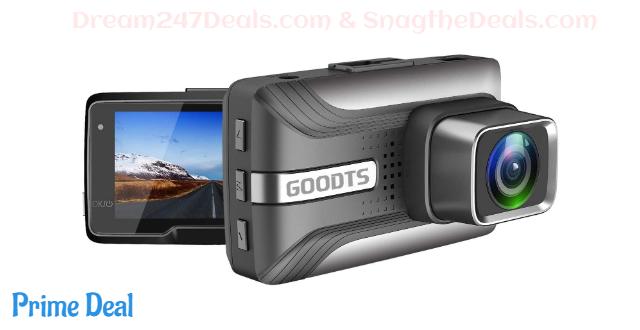 50% OFF Goodts Dash Camera