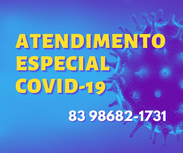 Prefeitura de Patos mantém vigente número de Whatsapp para esclarecer dúvidas sobre a COVID-19