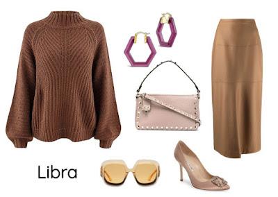 Gaya pakaian zodiak Libra