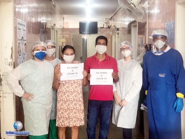 Emoção no hospital de Caraúbas: mais dois pacientes vencem a Covid-19