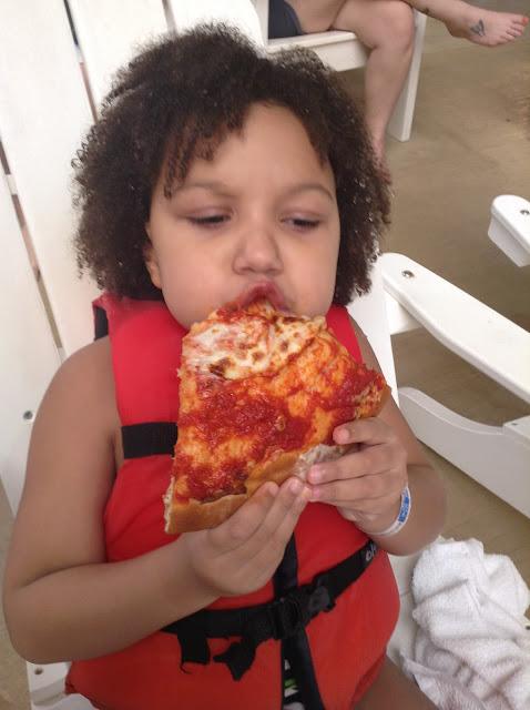 Cedar Point's Castaway Bay Tip: Birthday pizza!