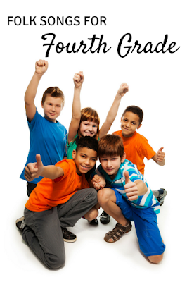 Fun with fourth grade: Five great folk songs for your fourth grade music lessons!