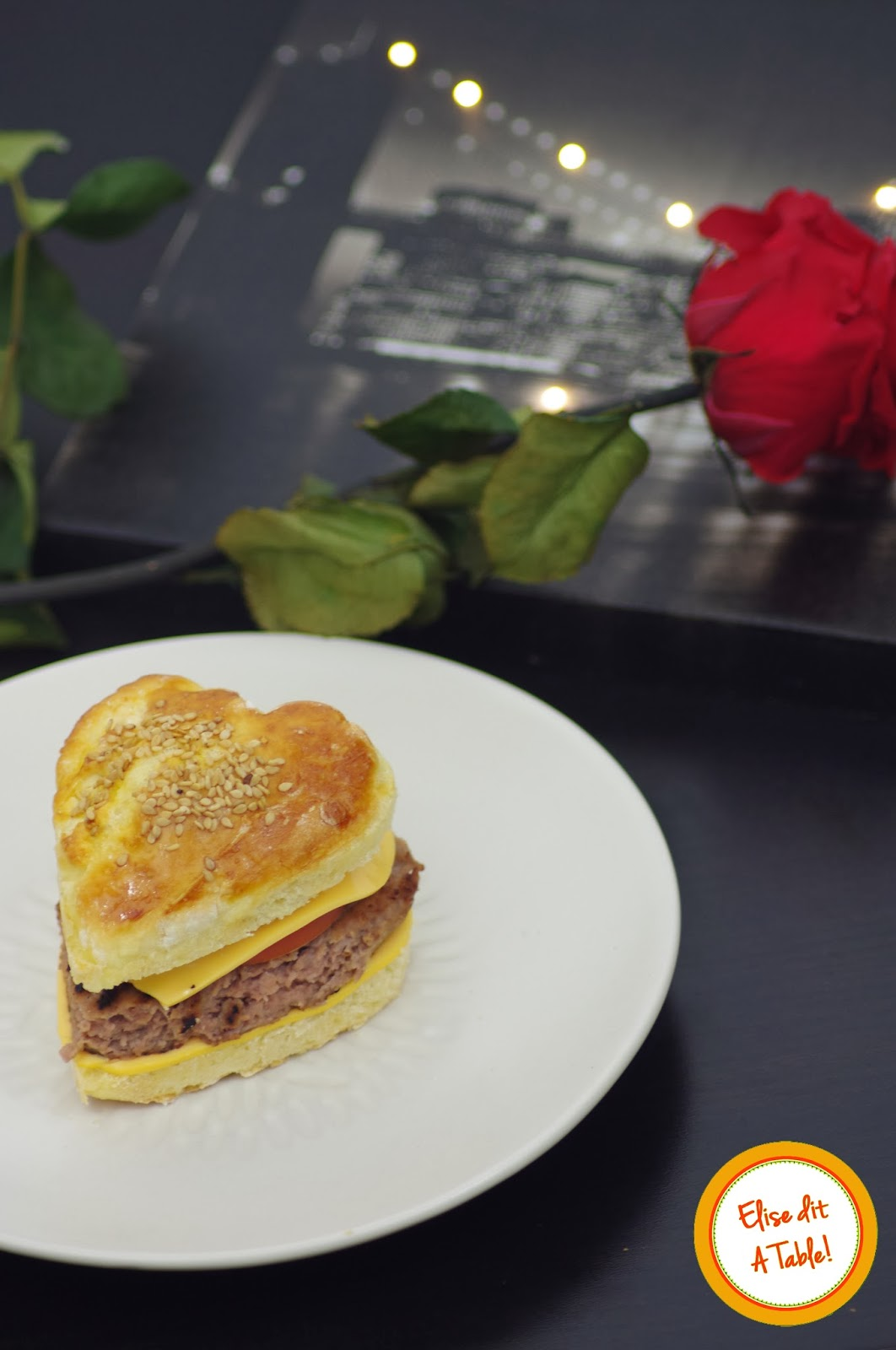 Hamburger de Saint Valentin