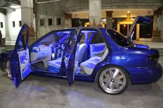 Modifikasi Mobil Timor Blue