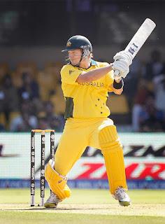 Australia vs Zimbabwe 4th Match ICC Cricket World Cup 2011 Highlights