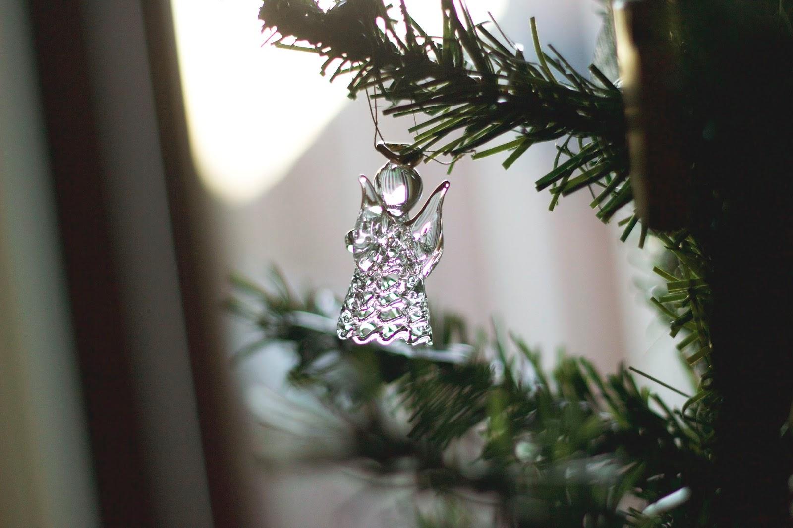 Angel on Christmas Tree Bauble
