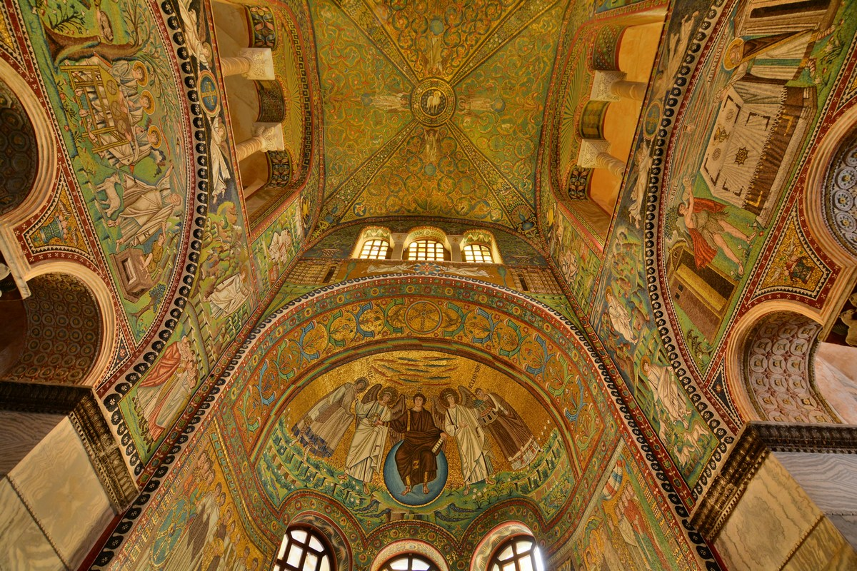 basilique Saint Vital Ravenne